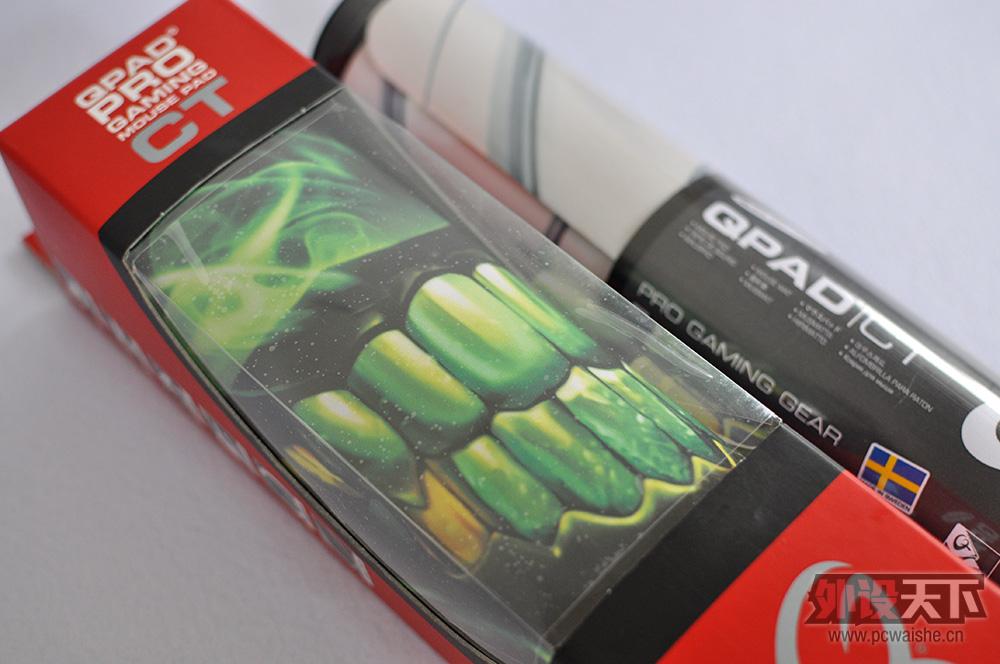 QPAD鼠标垫包装